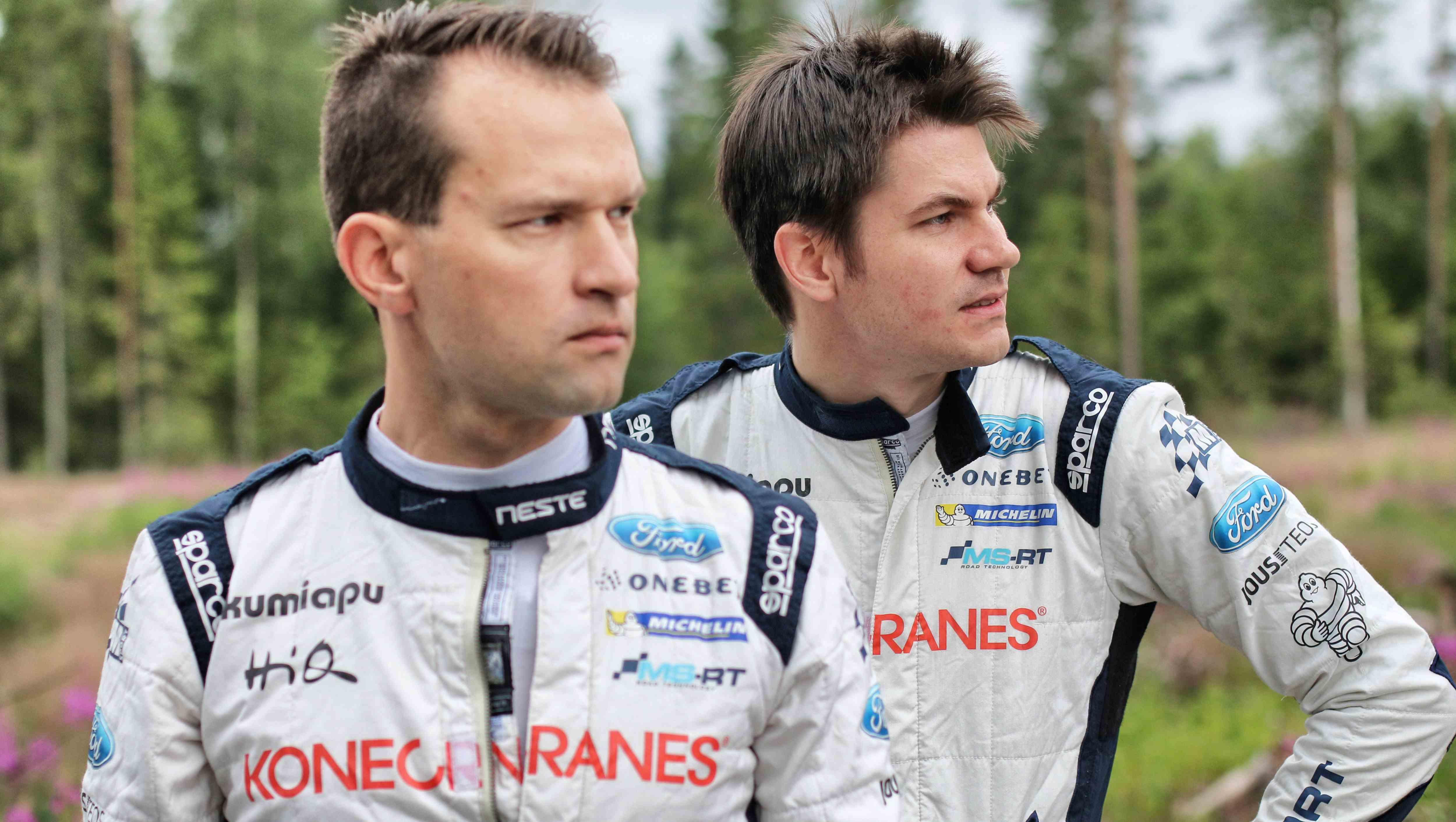 Kartanlukija Mikko Markkula ja Teemu Suninen