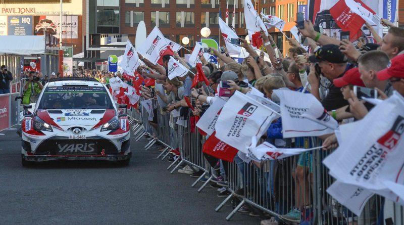 Suomen MM-ralli Toyota