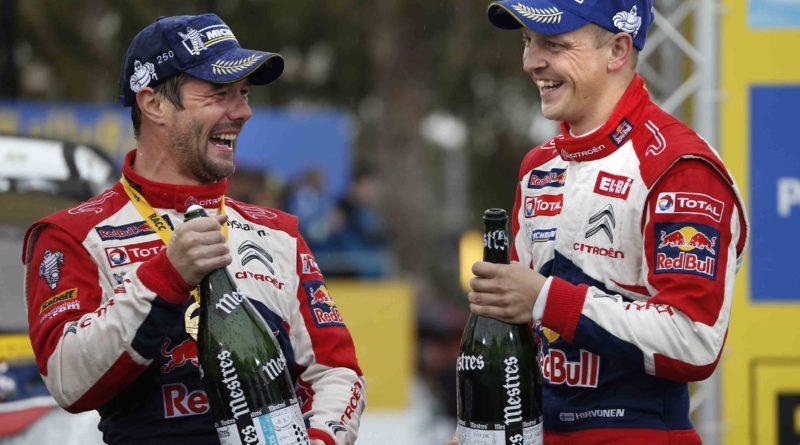 Sebastien Loeb ja Mikko Hirvonen