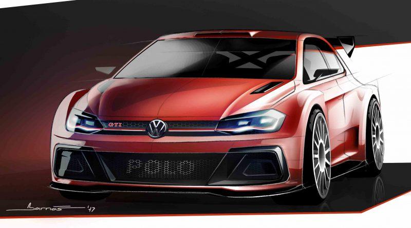 Luonnos Volkswagen Polo GTI R5 -autosta