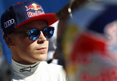Toomas Heikkinen kilpailee Subarulla Yhdysvalloissa