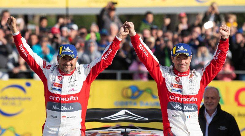 Sebastien Loeb ja Daniel Elena