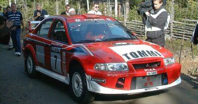 Tommi Mäkinen Mitsubishi