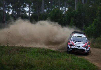 EK11: Toyota-kuskit kaksoisjohtoon! Latvala ajaa Australian MM-rallin kärjessä