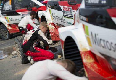EK15: Latvalalta loppui renkaat – Toyotalla yhä kaksoisjohto