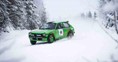 Kim Forsgren ajoi voittoon junnumestaruussarjan avauskilpailussa