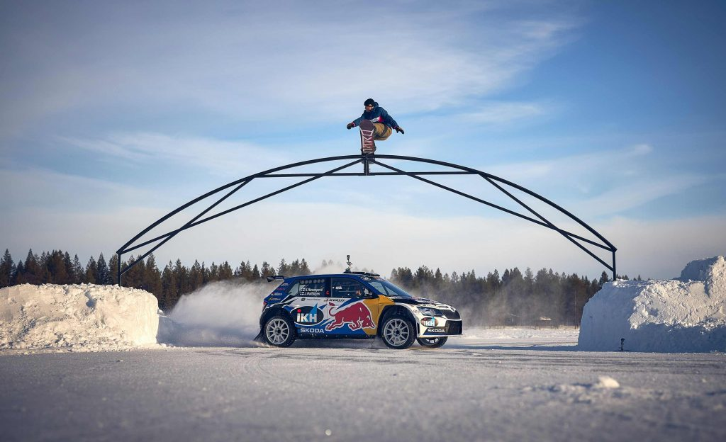 Kalle Rovanperä ja Eero Ettala