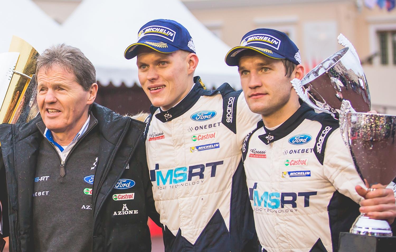 Ott Tänak ja Martin Järveoja kilpailivat Malcolm Wilsonin johtaman M-Sportin riveissä viimeksi kaudella 2017