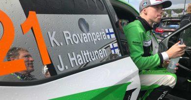 """Kalle Rovanperän mestaruus ei ratkennut kolmossijasta huolimatta – """"Kyllähän tämä harmittaa"""""""