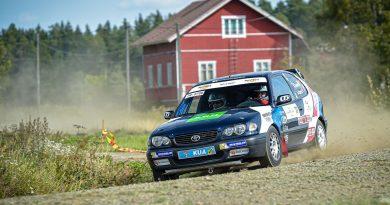 Rallin Suomen juniorimestaruus ratkesi ennen päätöskilpailua