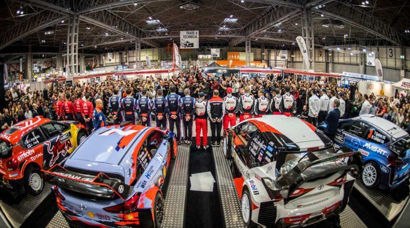 WRC Launch