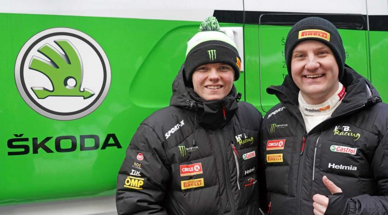 Oliver Solberg ja Aaron Johnston