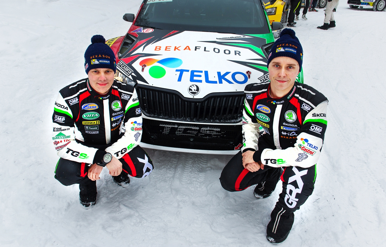 Mikael Korhonen ja Emil Lindholm