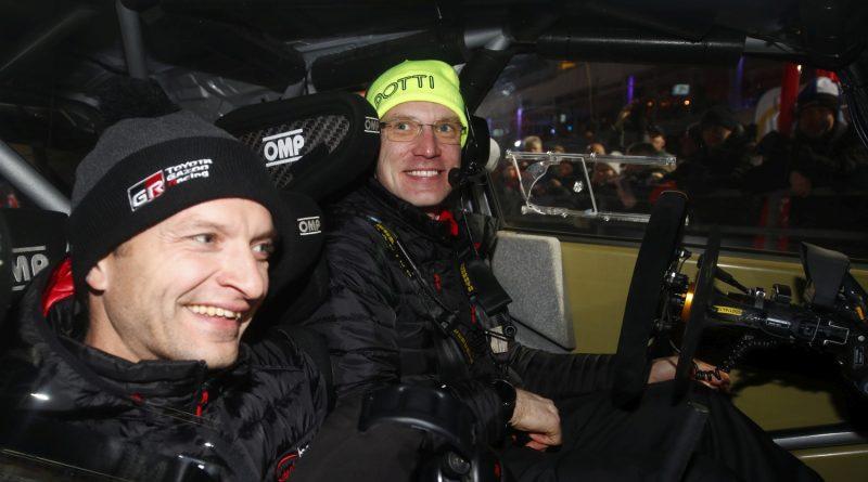 Juho Hänninen ja Jari-Matti Latvala
