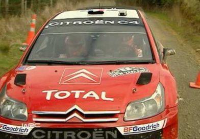 Marcus Grönholmilla ja Sebastien Loebilla jäätävä taistelu voitosta vuonna 2007 Uudessa-Seelannissa, eroa jäi vain 0,3 sekuntia (video)