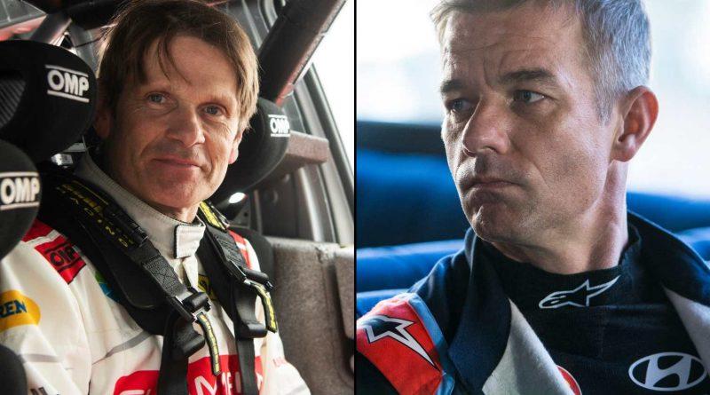 Marcus Grönholm ja Sebastien Loeb