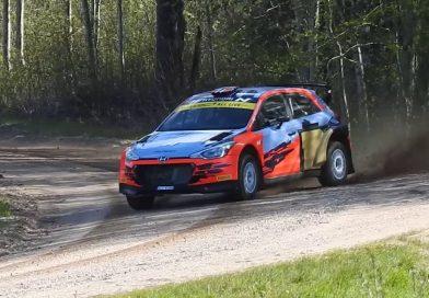 Ott Tänak testasi Hyundain R5-autoa Virossa, mentori Markko Märtin ajoi kilpailijatallin vanhalla WRC:llä