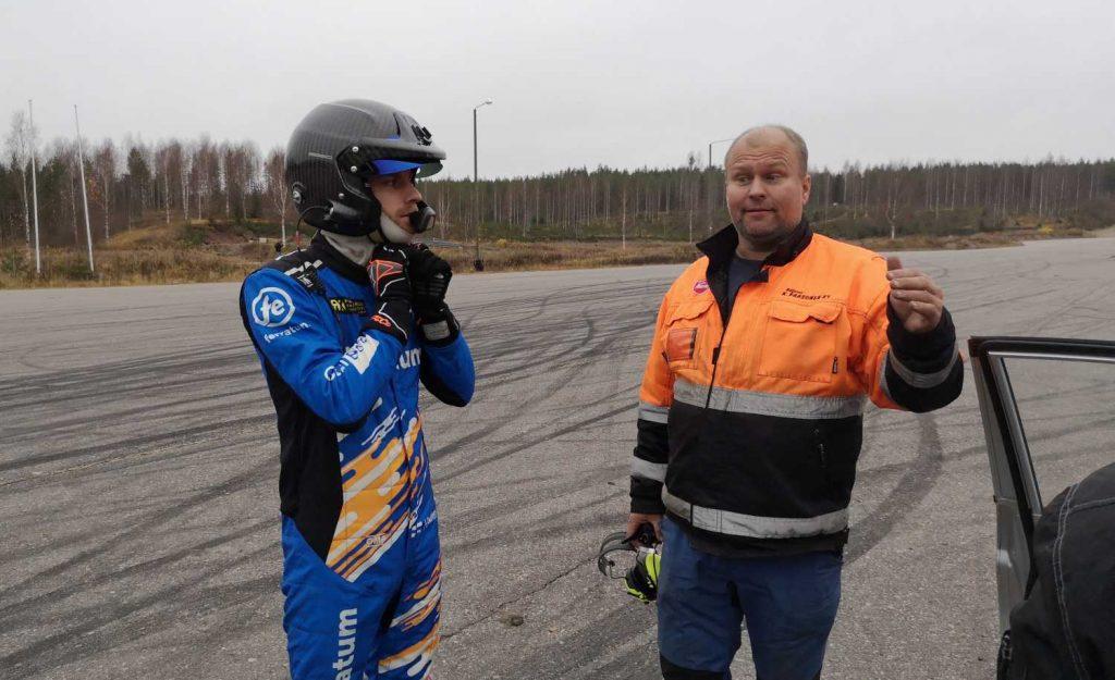 Juha Rytkönen ja Jani Paasonen