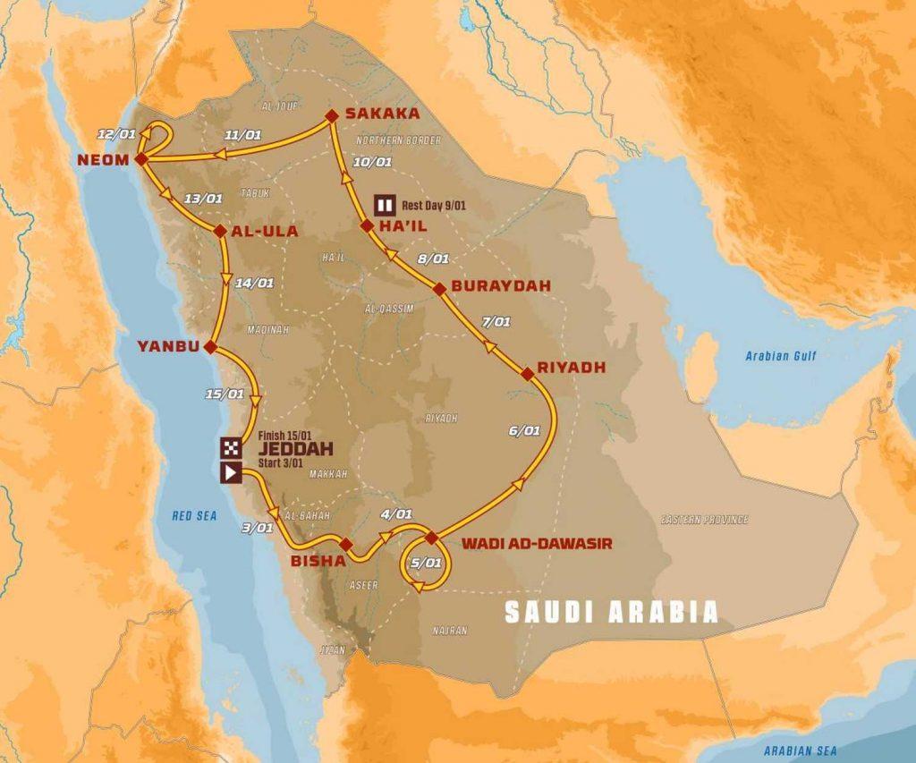 Dakar-ralli 2021