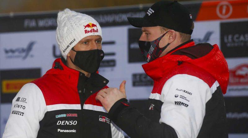 Sebastien Ogier ja Jari-Matti Latvala