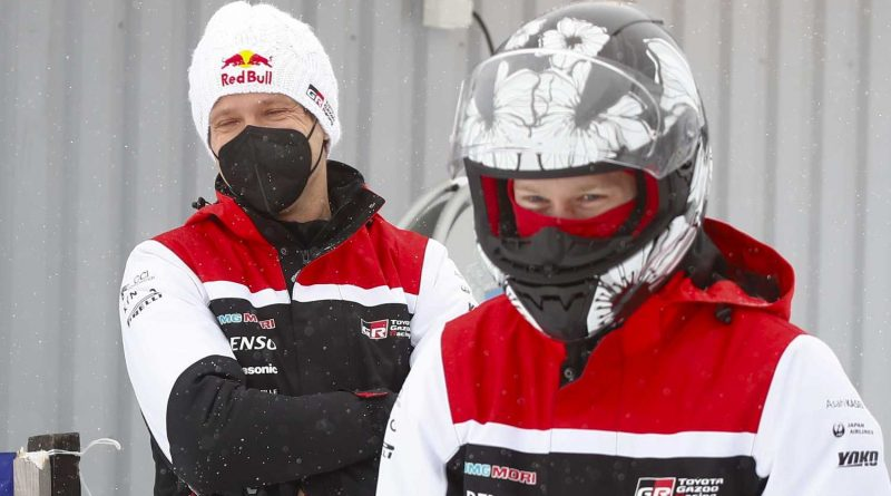 Sebastien Ogier ja Kalle Rovanperä