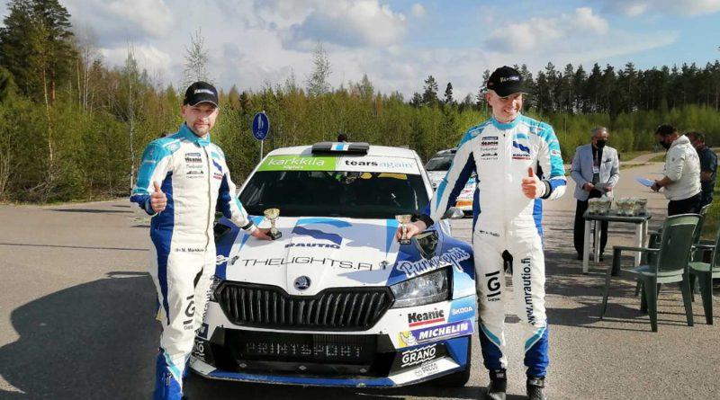 Mikko Markkula ja Juha Salo
