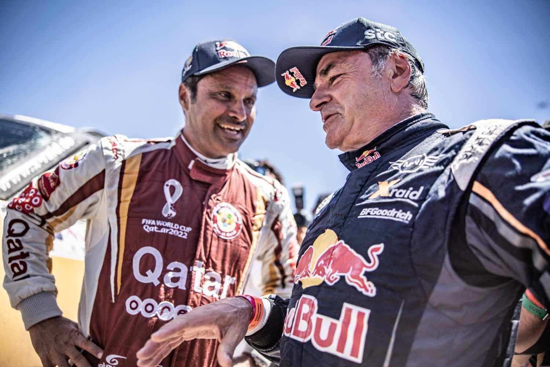 Nasser Al-Attiyah ja Carlos Sainz