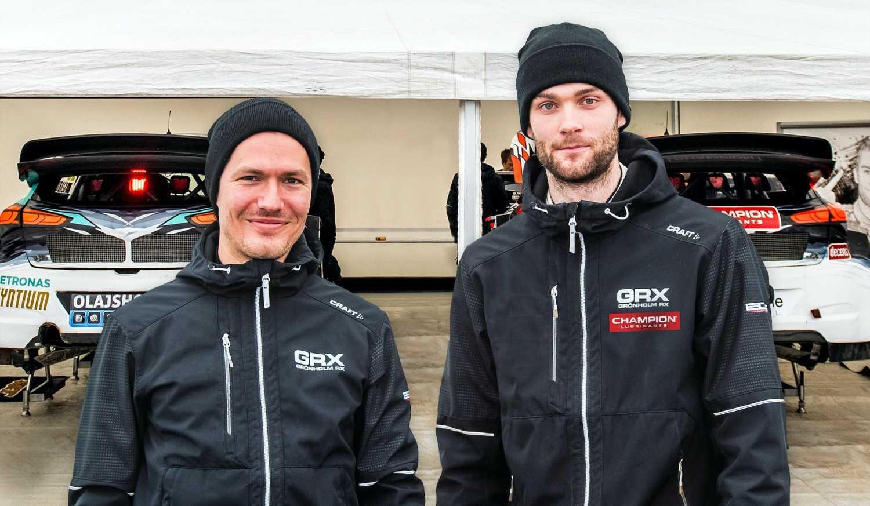 Krisztian Szabo ja Niclas Grönholm