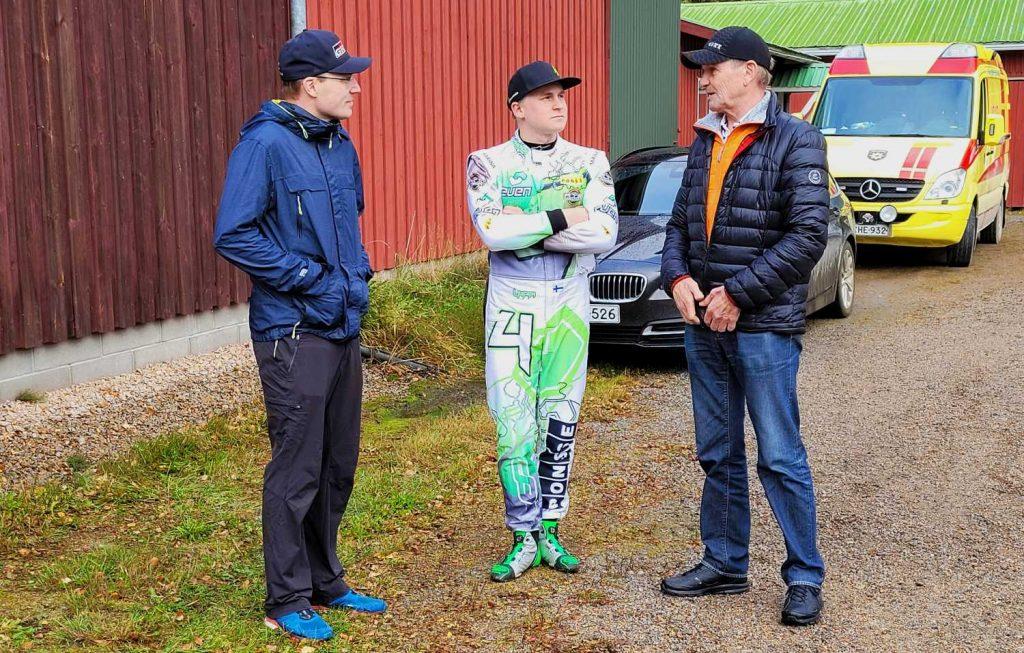 Jari-Matti Latvala, Esapekka Lappi ja Juha Kankkunen